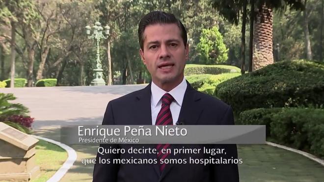 Peña Nieto lanza plan de apoyo a migrantes