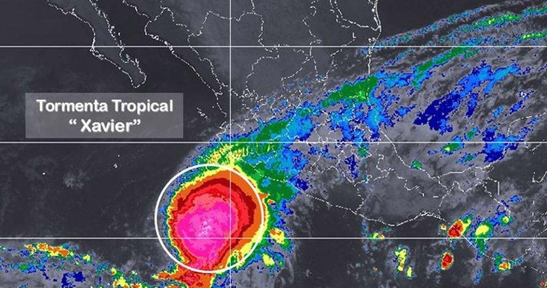 Prevén fuertes lluvias en Jalisco por presencia de Xavier