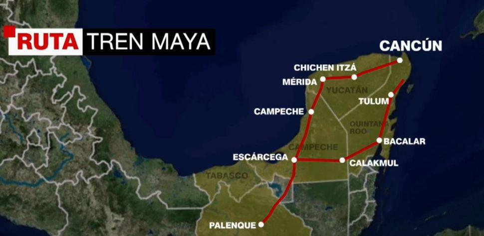 Tren Maya cuentan con certificado de impacto ambiental: Fonatur