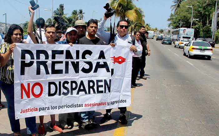 México ocupa el segundo lugar mundial por asesinatos de periodistas