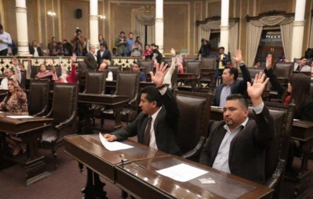 Congreso de Puebla comienza proceso para elegir gobernador interino