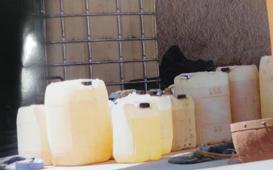 En Zapopan compran hasta 95 litros de gasolina en bidones