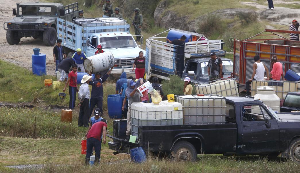 FMI respalda al gobierno de México en lucha contra huachicoleros