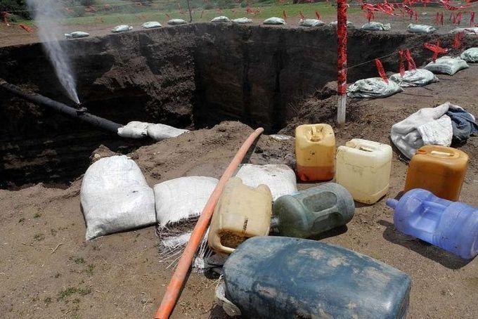 Aseguran 21 mil litros de combustible robado en Jalisco