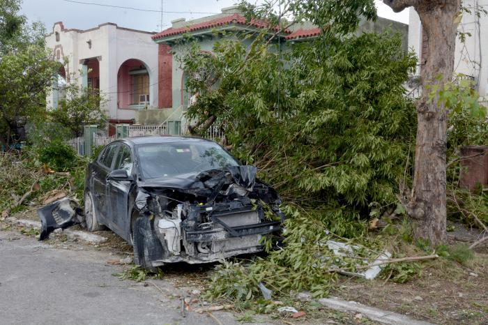Fotos: Devastación en Cuba por Tornado
