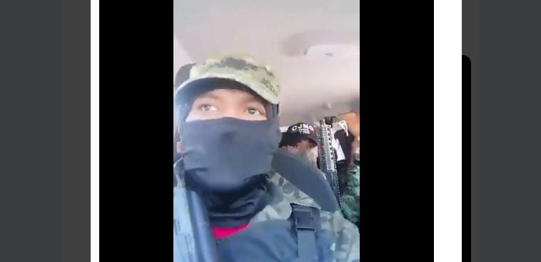 """""""Les voy a matar a toda a familia"""": irrumpe y amenaza el cártel de Jalisco en Ciudad de México"""
