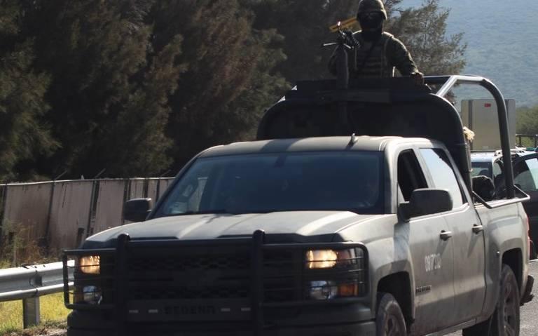 Despliegan a 600 militares en Jalisco para combatir la inseguridad