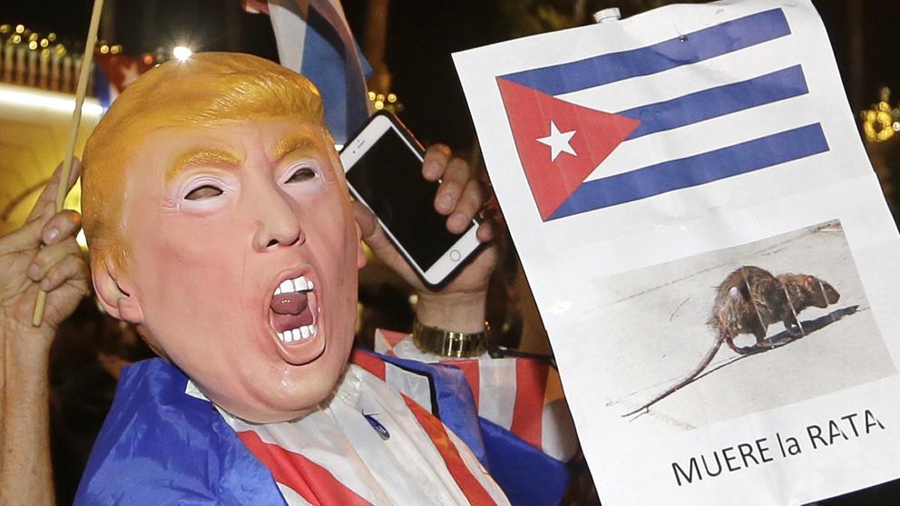 Cuba en la mira de Donald Trump