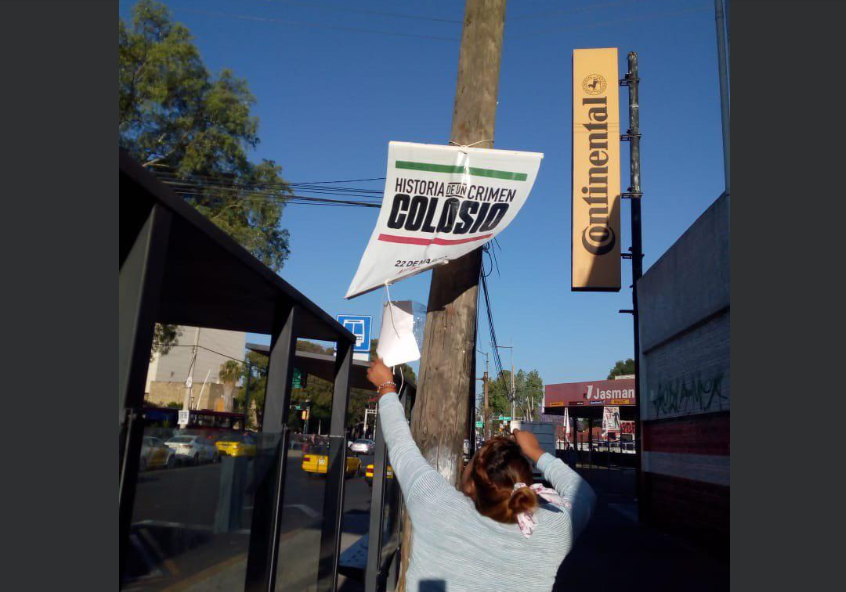 Ayuntamiento de Guadalajara retira publicidad sobre serie de Colosio