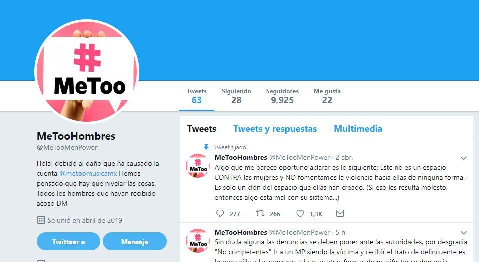 "#MeTooHombres: nace movimiento ""clon"" de #MeToo"