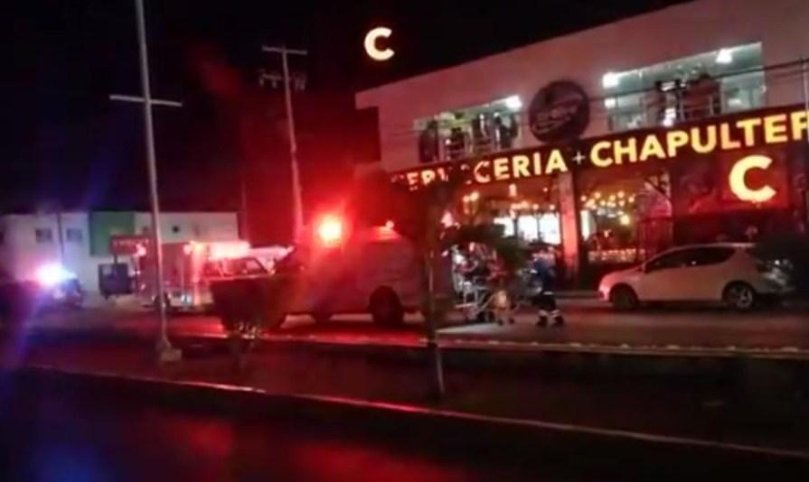 Atentado a Cervecería Chapultepec en Playa del Carmen: un muerto y 11 heridos