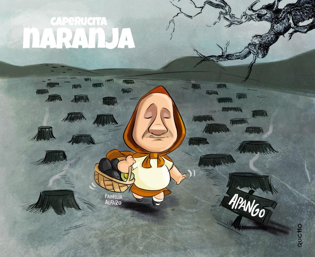 Enrique Alfaro ramírez aguacate oro verde qucho monero