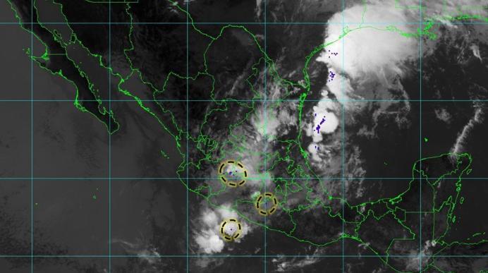 Pronostican tormentas fuertes y actividad eléctrica para Jalisco