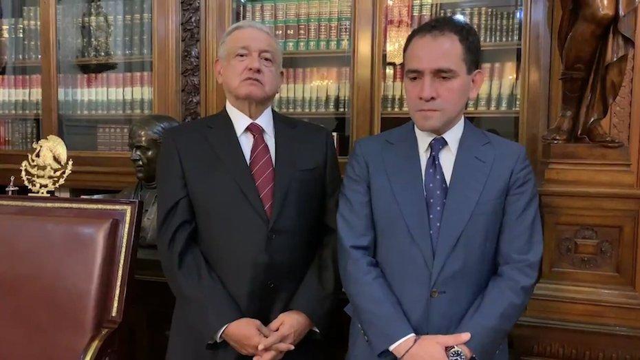 AMLO reprocha decisión de Urzúa y pone a Arturo Herrera frente a la SHCP