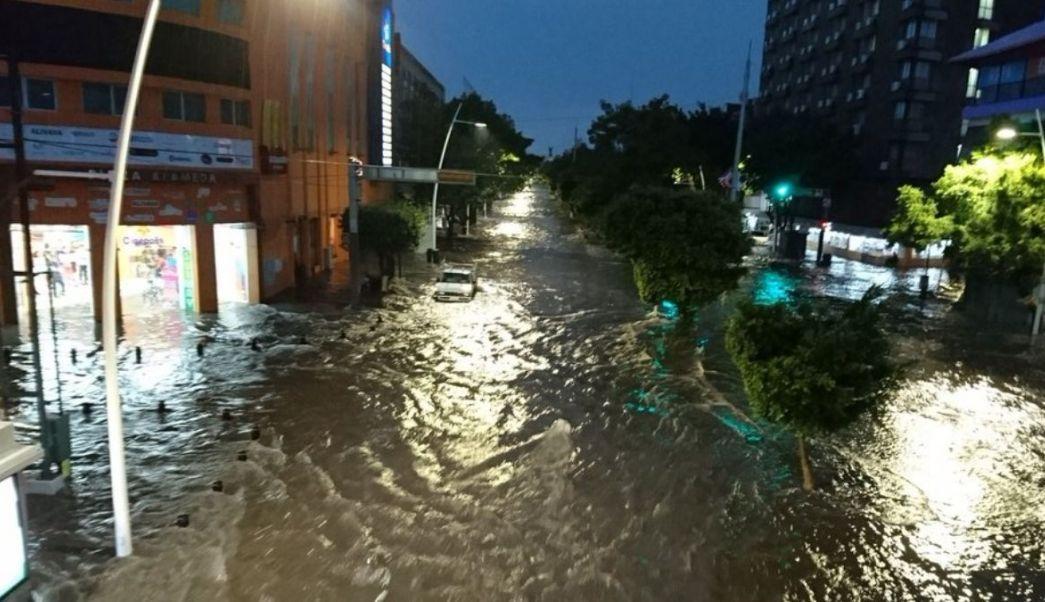 En Jalisco, el agua pluvial se desperdicia