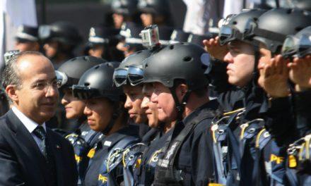 Niega Felipe Calderón estar detrás de protesta de la Policía Federal