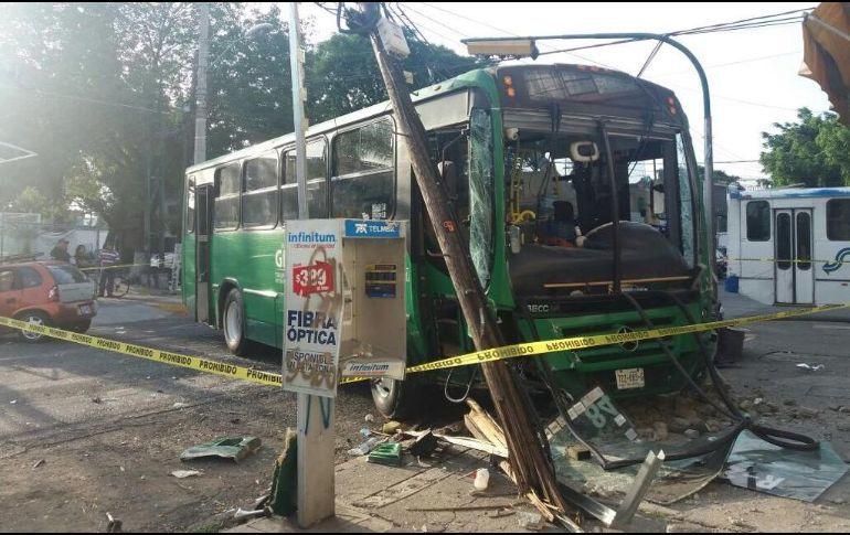 Muerte, dolor y mal servicio, signos del transporte urbano en Jalisco