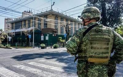 Cierres viales en Chapultepec por simulacro de seguridad consular