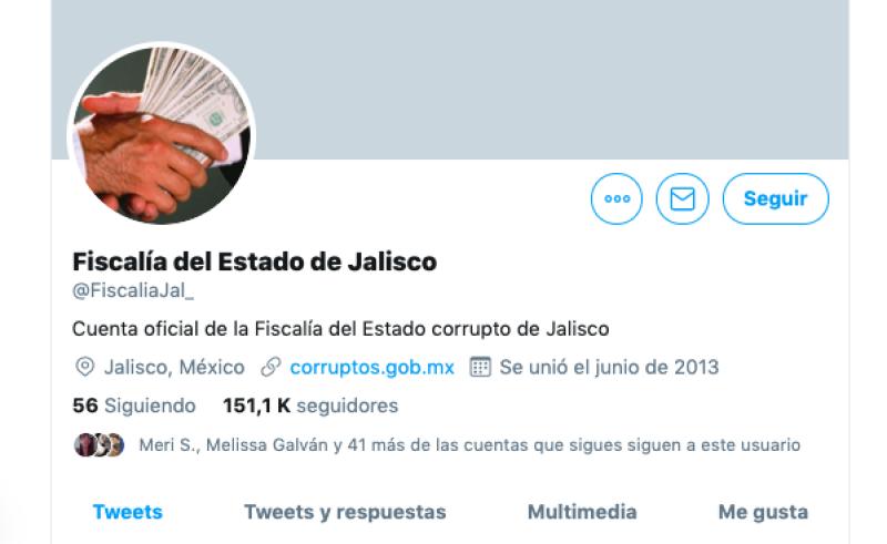 Hackean cuenta de la Fiscalía de Jalisco y amenazan a López Obrador
