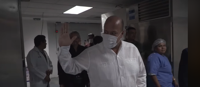 No hay crisis forense, asegura Enrique Alfaro