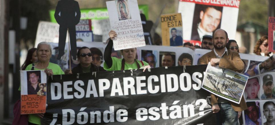 Proponen subcomisión para desaparecidos