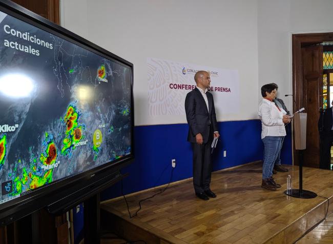 Activa alerta naranja en Jalisco por tormenta tropical Lorena