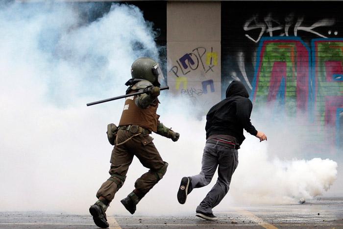 Un mal mes: descontento en México, Chile, Guatemala y Bolivia