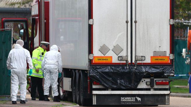 Eran de China, cadáveres localizados en Reino Unido