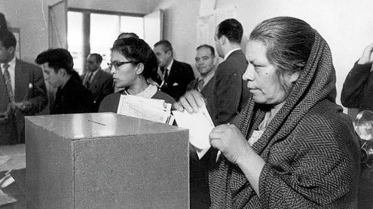 66 Aniversario del reconocimiento del derecho al voto de las mujeres