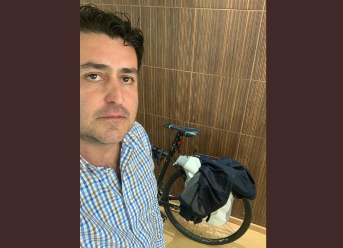 """""""Yo no hago uso de vehículo oficial, ni de gasolina…"""", responde Hugo Luna a reportaje"""