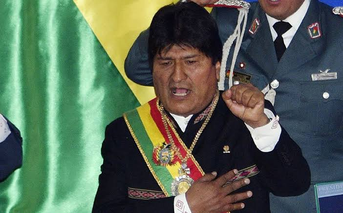 Buenas y malas de Evo Morales