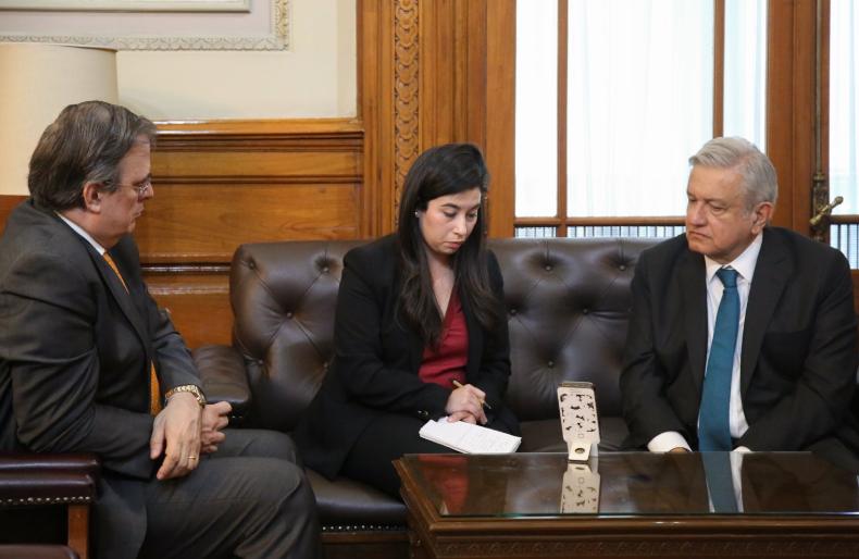 López Obrador habla con Trump tras atentado contra familia LeBarón