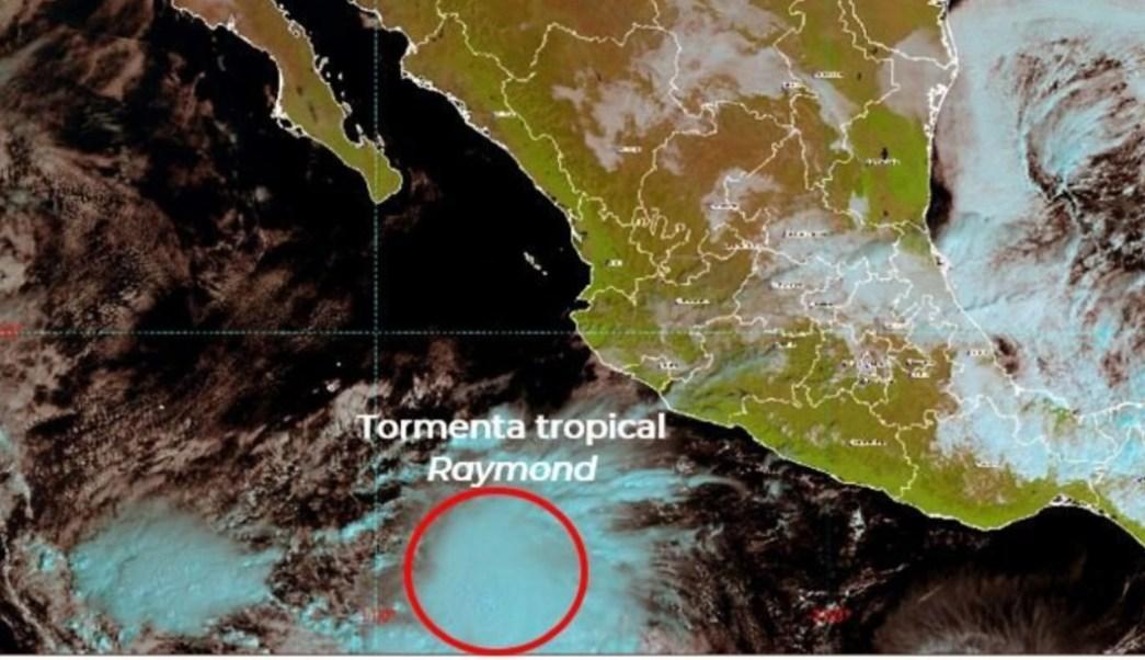 Raymond, tormenta tropical, se forma en el Pacífico