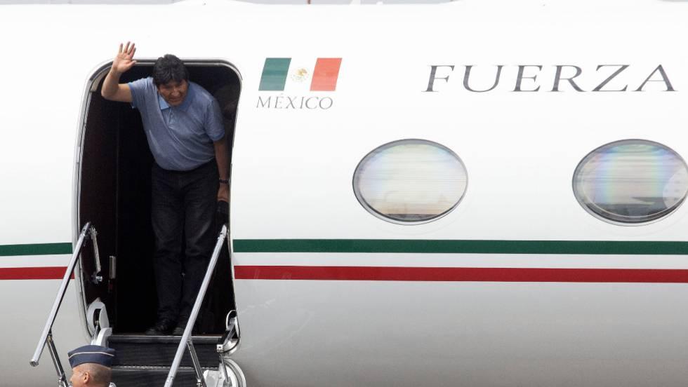 """""""El gobierno de México me salvó la vida"""": Evo Morales"""