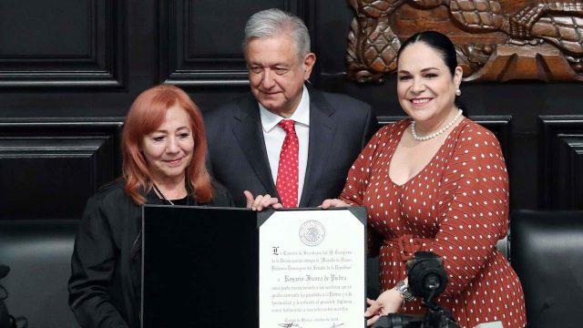 Va Rosario Ibarra  a la Comisión Nacional de los Derechos Humanos