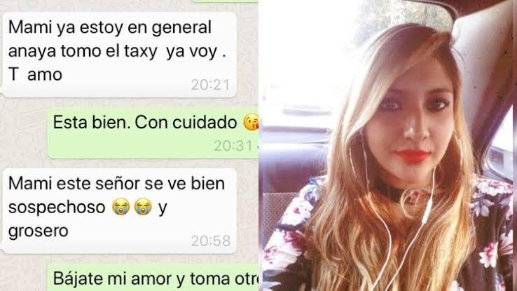 Karen subió a un taxi en la Ciudad de México y desapareció