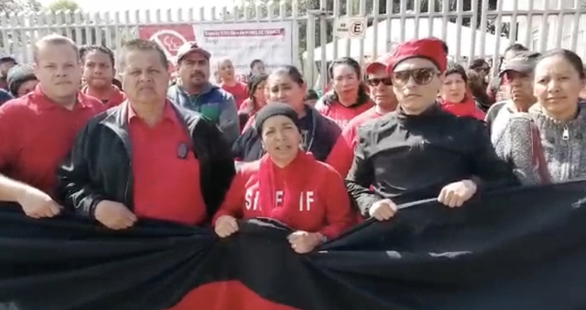 Lemus para evitar huelga en DIF Zapopan, manda a policías