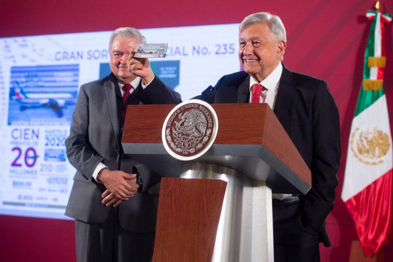 Se terminan boletos para rifa del avión presidencial en Jalisco
