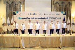 Jalisco y siete estados más acuerdan su propia estrategia contra Covid-19