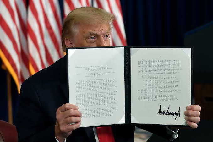 Trump anuncia un nuevo acuerdo de paz de Israel, esta vez con Bahréin