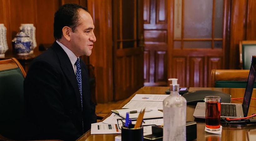 Arturo Herrera presidirá junta de gobernadores del FMI y BM
