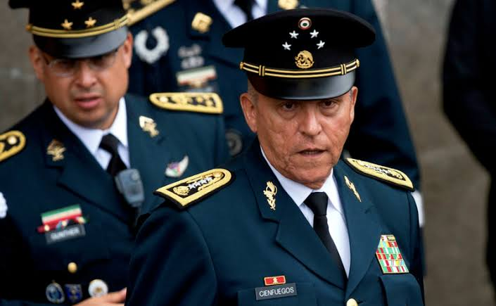 Detienen al general Salvador Cienfuegos en Estados Unidos