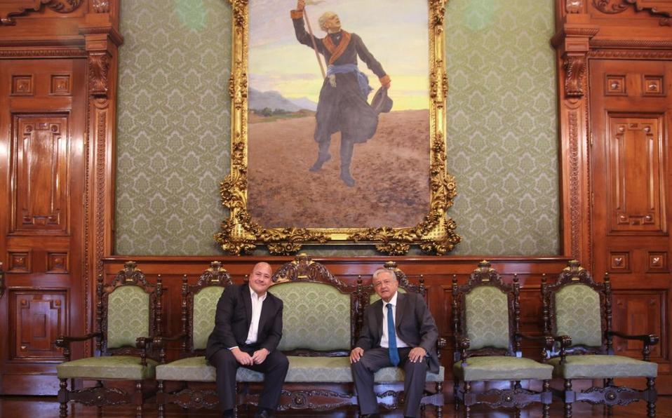 Da Alfaro negativo a Covid-19 tras reunión con López Obrador