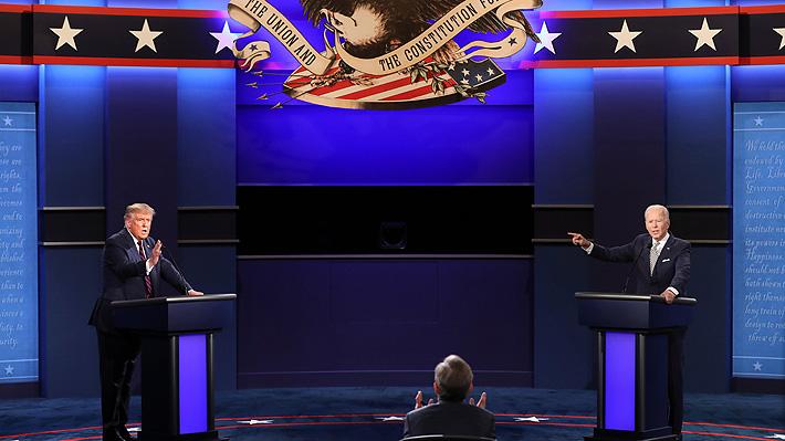 El primer debate Trump vs Biden lo perdió la democracia