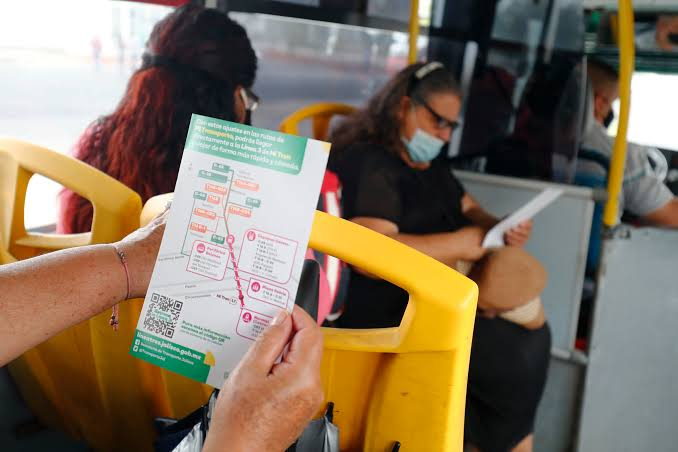 Transporte público y plataformas operarán fines de semana