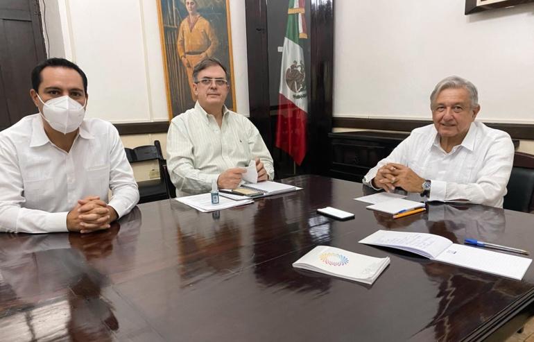 Sostendrán López Obrador y Biden primera reunión de Estado