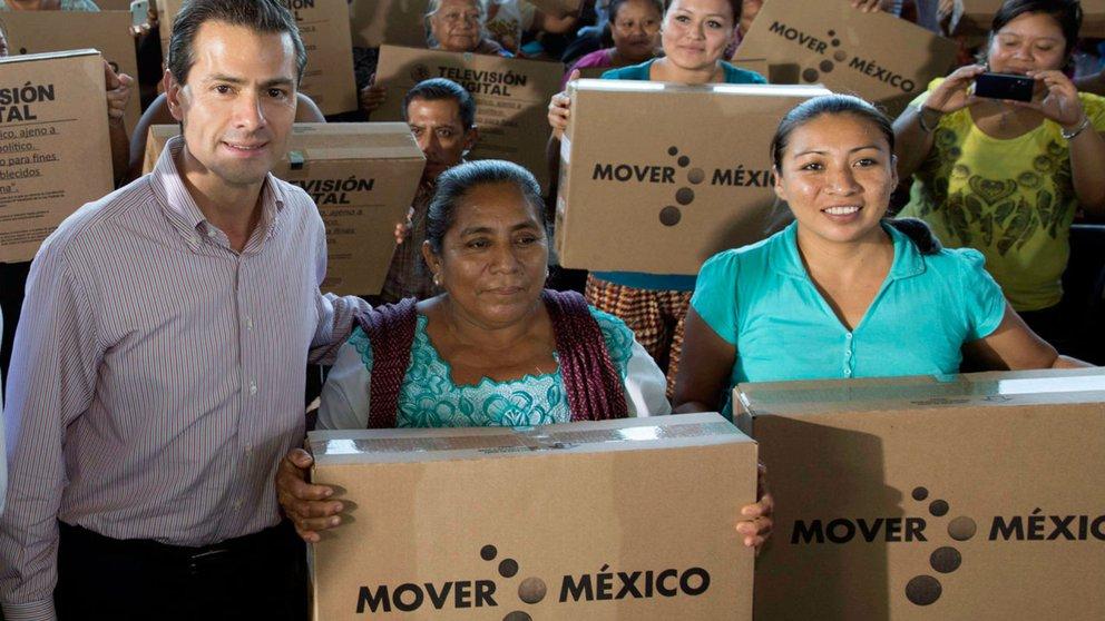 El PRI regaló televisores para dar felicidad: Sarahí Cortés