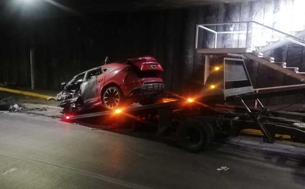 Ligan a hombre accidentado en Lamborghini con el CJNG