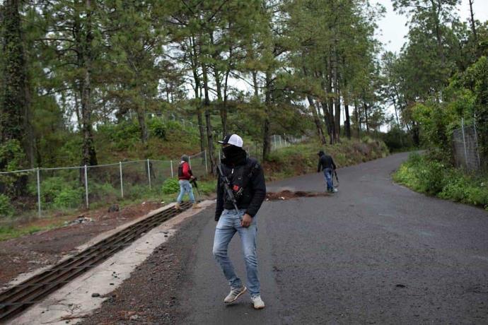 Violencia en Chiapas