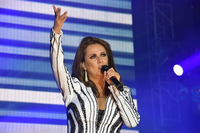 Edith Márquez, con presentación al aire libre